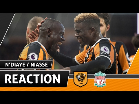 The Tigers 2 Liverpool 0 | Reaction with Alfred N'Diaye & Oumar Niasse | 04.02.17