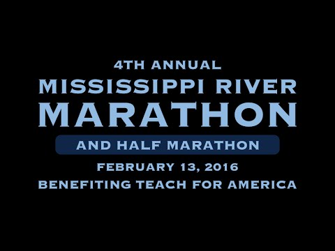 2016 Mississippi River Marathon Part 1