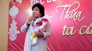 NSND LỆ THỦY hát gây quỹ mừng Xuân Kỷ Hợi 2019