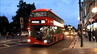 London Buses Trains & The Underground - Summer 2014