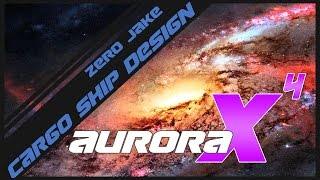 Aurora 4X - Part 4 - Cargo Ship Design (Gameplay)