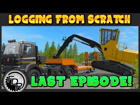Last Episode! | Farming Simulator 2017 | Logging From Scratch #23 thumbnail