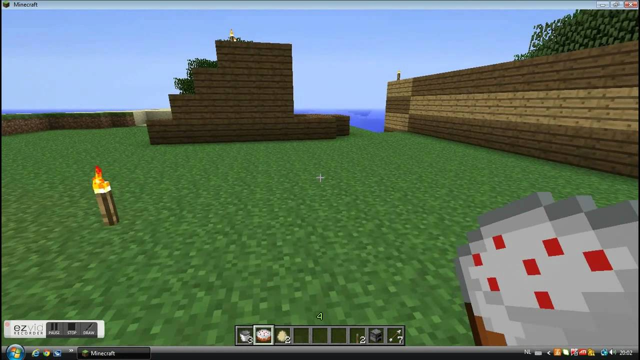 how to use a hoe in minecraft