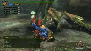 MH3U - Monster Hunter 3 Ultimate: Savage Deviljho/ Hungry Deviljho in 4:45min. ~ (Wii U)