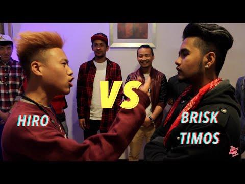 Hiro VS Bri$k Timos - Raw Barz UK ( First official rap battle)