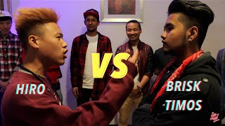 Hiro VS Bri$k Timos - Raw Barz UK ( First official rap battle)