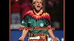 Top 10 WM-Torschützen aller Zeiten