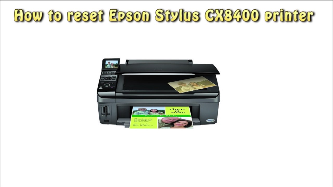 reset epson cx8400 waste ink pad counter youtube rh youtube com Install Epson Stylus CX8400 Epson Stylus CX8400 Installation Software