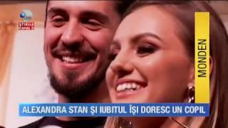 Stirile Kanal D 19 02 2017 Alexandra Stan Si A Refacut Viata Artista Isi Doreste Un Copil