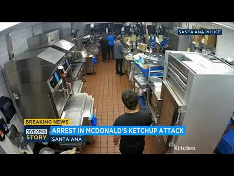 Kid Jay - Woman arrested in attack on McDonald's manager over ketchup