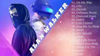 The Best of Alan Walker - Alan Walker Greatest Hits ( On My Way , Lily , Darkside)