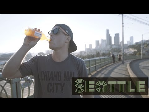 Buying, Smoking & Drinking Weed in Seattle 🌳 [Preview] Digital Nomad Travel Cannabis Vlog