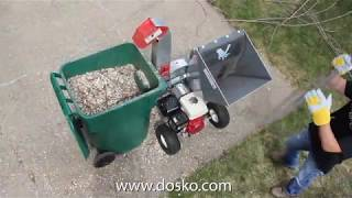 "Dosko 4"" Chipper (Model 13-21T-13H) - FEATURES"
