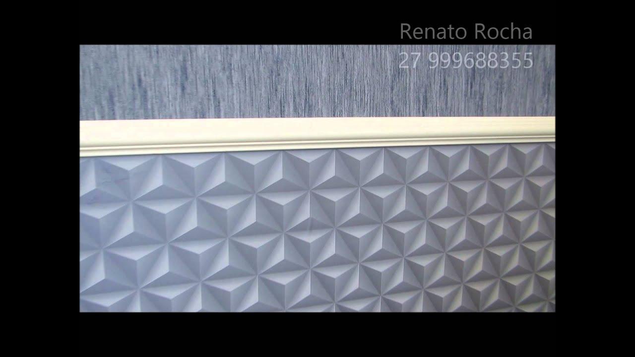 Quarto de rapaz decorado com papel de parede 3d e textura - Papel decorado para paredes ...
