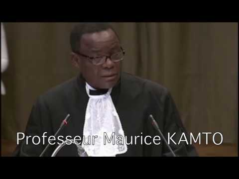 CIJ BMA   OBSERVATIONS ORALES DU PROFESSEUR MAURICE KAMTO