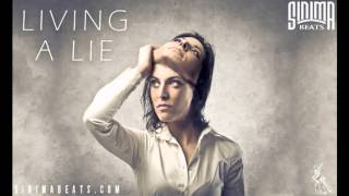 LIVING A LIE (Slow and Sad Rock Instrumental) Sinima Beats