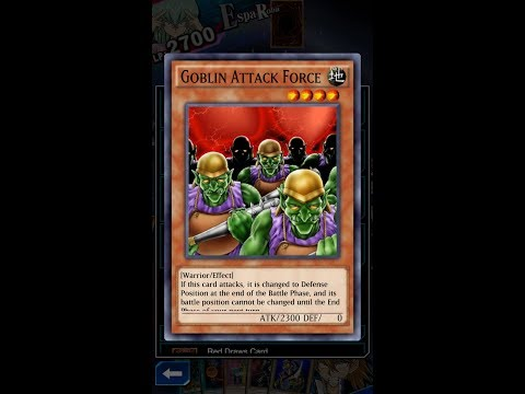 Yugioh Duel Links - Does Joey have a LINE with Goblin Attack Force?