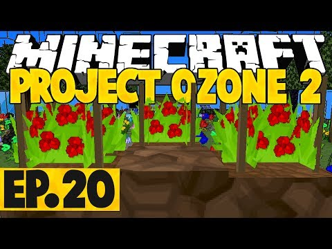 Minecraft Project Ozone 2 Titan Mode - World Download! #20 [Modded Questing Skyblock]