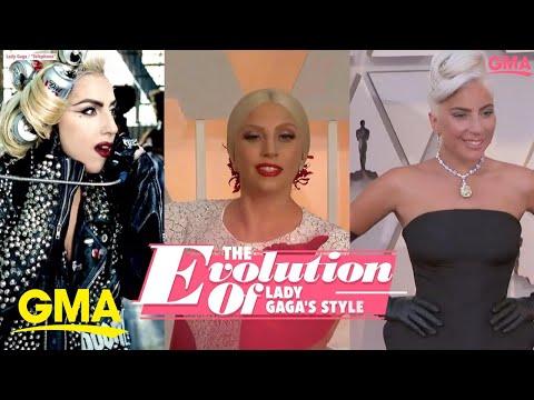 The Style Evolution Of Lady Gaga L GMA Digital