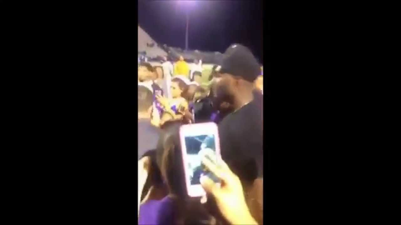 Dez Bryant In Lufkin Texas Home Coming Game