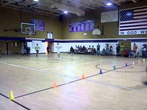 Yearling middle school dodgeball finals