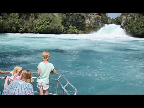 Huka Falls River Cruise - Taupo, New Zealand