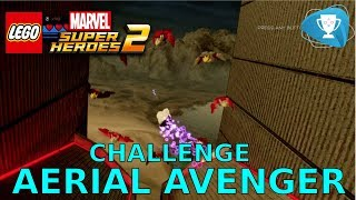 Lego Marvel Super Heroes 2 - Aerial Avenger Challenge All Ring of Birds Locations