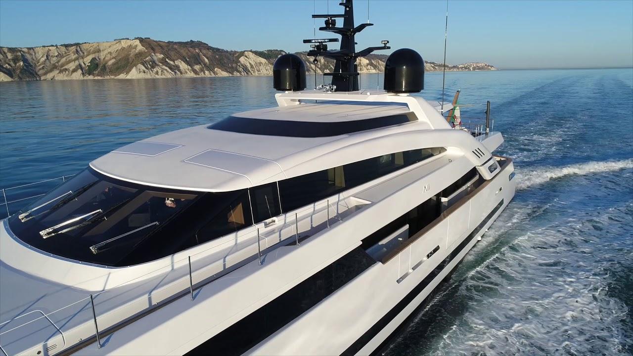 Isa Yachts 43 meter M/Y Agora III