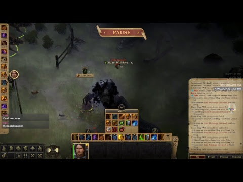 Pathfinder: Kingmaker - SOLO - UNFAIR - Day #3 Act 2! (Monster Tactician)
