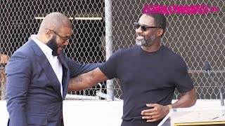 Idris Elba Gives A Heartfelt Speech At Tyler Perry's Hollywood Walk Of Fame Ceremony 10.1.19