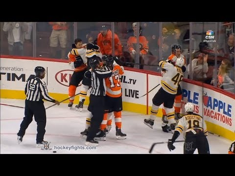 David Krejci vs Nolan Patrick Sep 28, 2017