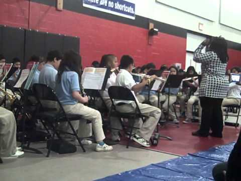 KIPP Austin College Prep 7th Grade Band Winter Show