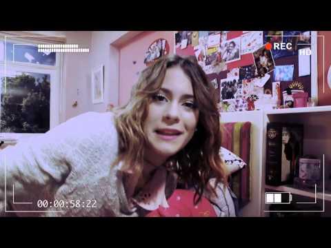 Съёмочный дневник:комната Виолетты.
