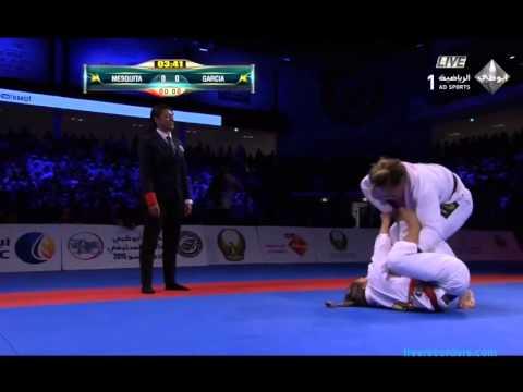 Gabi Garcia vs Bia Mesquita. ABU DHABI 2015 WPJJC