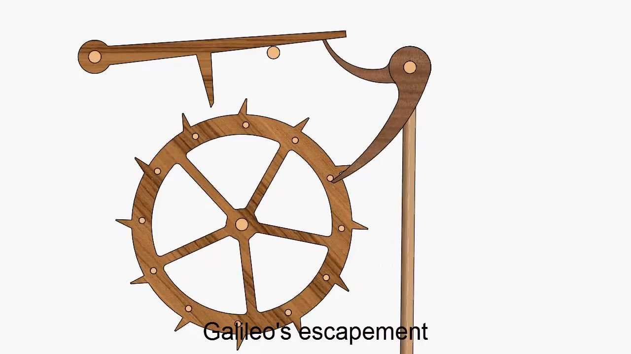 Galileo's Escapement - YouTube