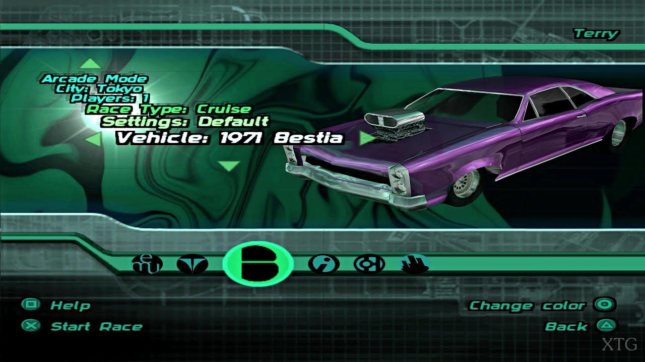 Midnight Club II - All Cars List PS2 Gameplay HD (PCSX2)