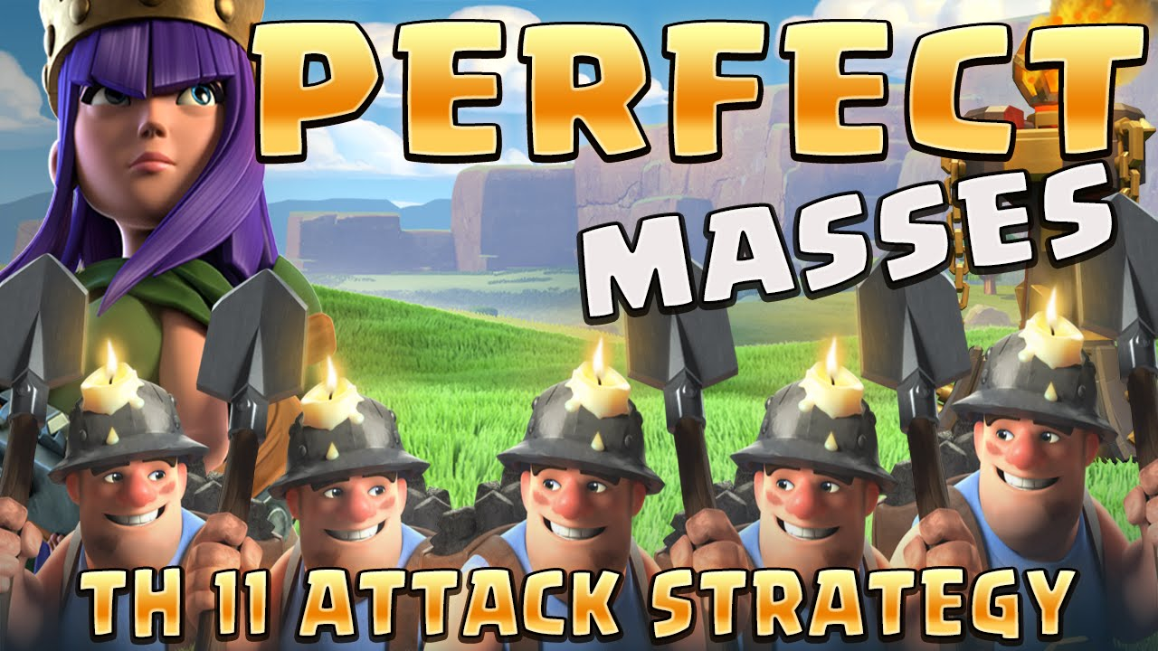 best th11 attack strategy 2020 How to Queen Charge into Mass Miner   TH 11 Attack Strategy