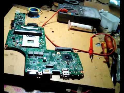 Steps to fix Toshiba Laptop Won't turn ON, laptop mati total