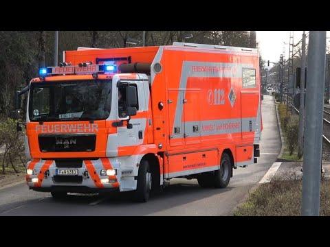 [HORNWECHSEL] GW-AS 2 + GW-Mess BF FW 1+ FuStW Polizei | Frankfurt a.M.