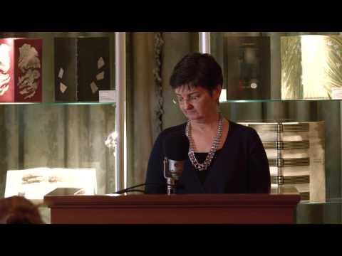 MARIANNE MOORE: Poet & Performer With Linda Leavell   Woodberry Poetry Room