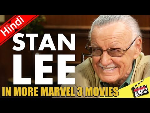 Stan Lee Confirmed for Next 3 Marvel Movie Cameos [Explained In Hindi]