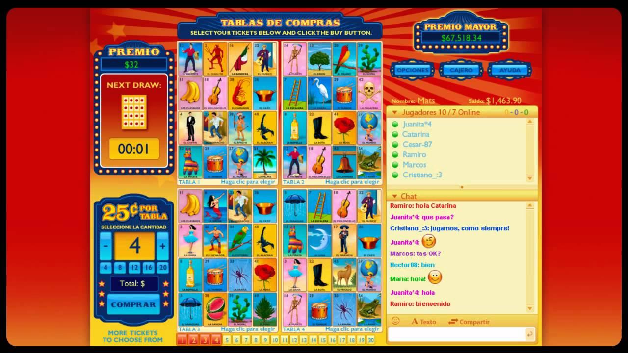 Imprimir Para Mexicana Cartas Loteria