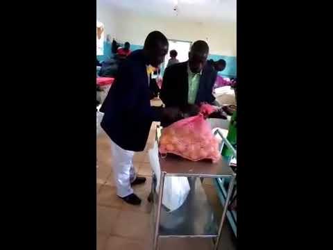 Bros Haron & Kennedy Praying for the Sick in Jesus Name Western Kenya