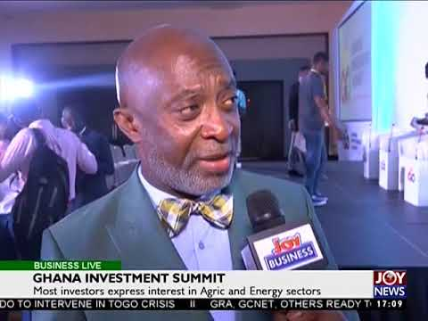 Ghana Investment Summit -  Business Live on JoyNews (22-8-17)