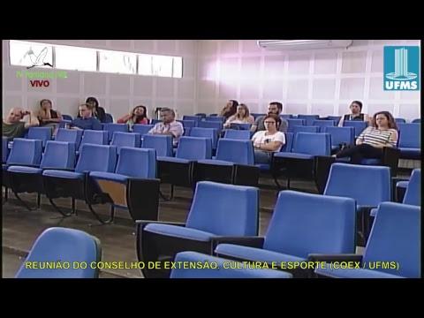 REUNIÃO DE EXTENSÃO, CULTURA E ESPORTE (COEX / UFMS)  101218