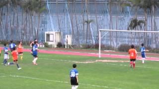 陳呂重德vs李兆基 2014 3 13 元朗學界足球丙組 精華