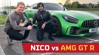 Nico Rosberg vs AMG GT R! Interview with the Champ!