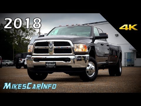 2018 RAM 3500 Diesel Dually Tradesman 4x4 - Ultimate In-Depth Look in 4K