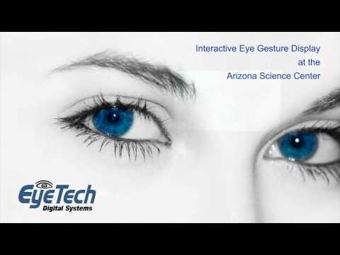 Interactive Eye Gesture Exhibit for Museums