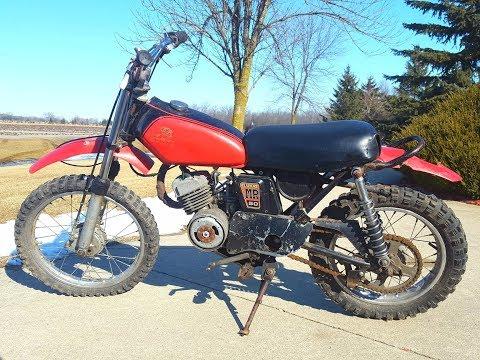 Honda Cr50 Find!!! (SUPER RARE)